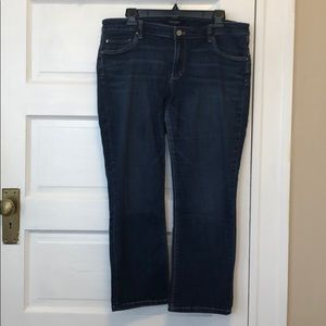 WHBM crop leg jeans